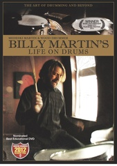 Billy Martin's Life on Drums