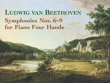 Symphonies 6-9 for Piano Four Hands