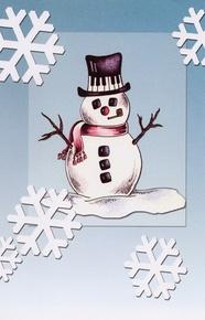 Schaum Recital Programs (Blank) #57: Snowman