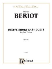 Twelve Short Easy Duets, Opus 87