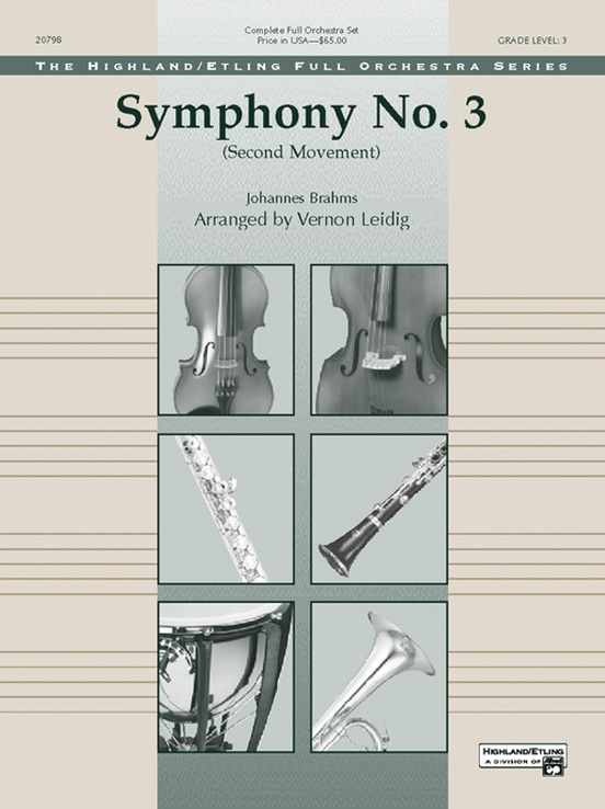 Symphony No. 3 (2nd Movement)