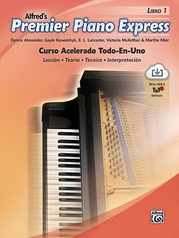 Premier Piano Express: Spanish Edition, Libro 1