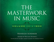 The Masterwork in Music, Volume III (1930)