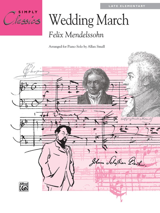 Wedding March Piano Sheet Felix Mendelssohn
