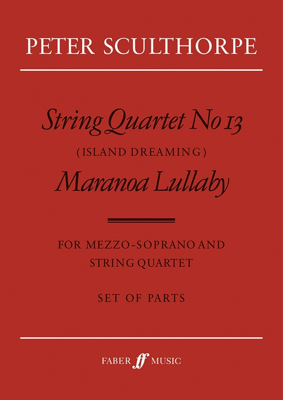 String Quartet No. 13 / Maranoa Lullaby