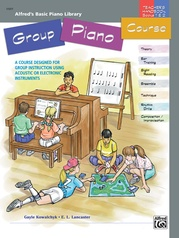 Alfred's Basic Group Piano Course: Teacher's Handbook for Books 1 & 2