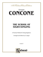The School of Sight-Singing: Practical Method for Young Beginners (Lutgen)