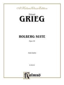 Holberg Suite, Opus 40
