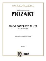 Piano Concerto No. 22 in E-flat, K. 482