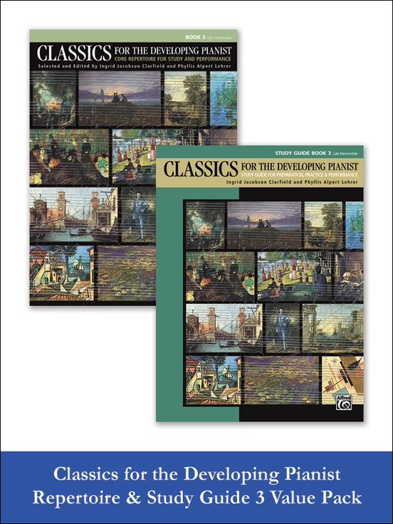 Classics for the Developing Pianist, Repertoire & Study Guide Book 3