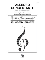 Allegro Concertante (from Divertimo No. 1)