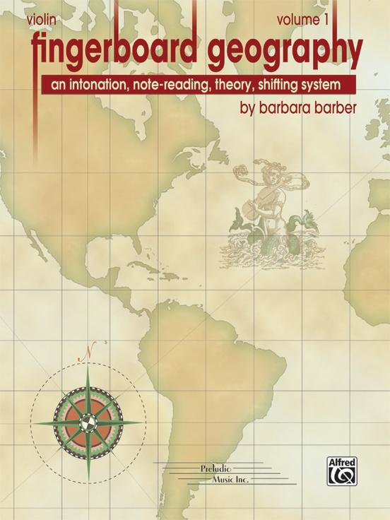 Fingerboard Geography for Violin, Volume 1