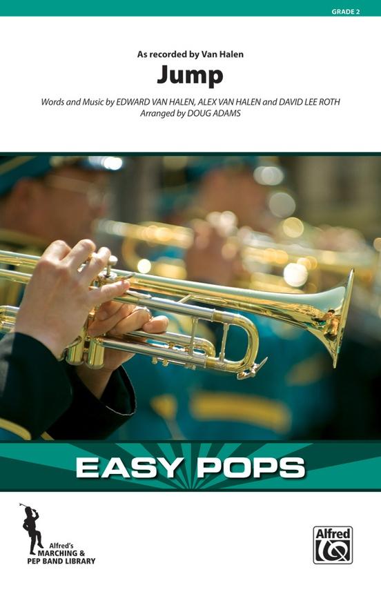Jump Marching Band Conductor Score Parts Van Halen