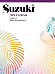 Suzuki Viola School Piano Acc., Volume 8