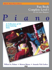 Alfred's Basic Piano Library: Fun Book Complete 1 (1A/1B)