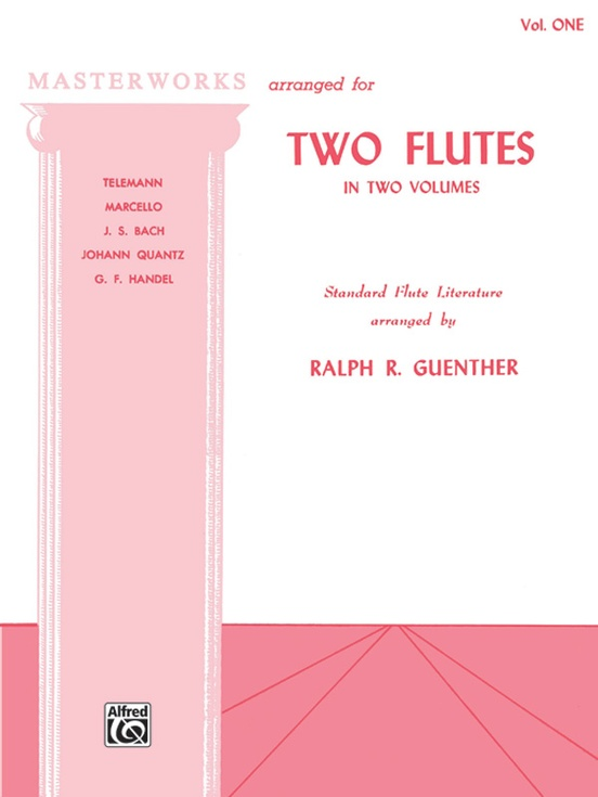 Masterworks for Two Flutes, Book I