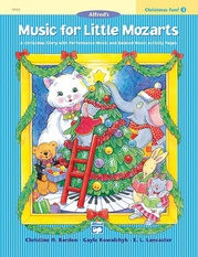 Music for Little Mozarts: Christmas Fun! Book 3