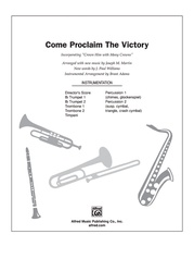 Come, Proclaim the Victory