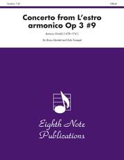 Concerto (from L'estro Armonico, Op 3 #9)