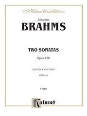 Two Sonatas, Opus 120