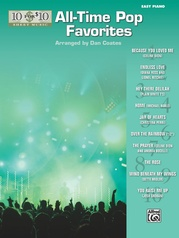 10 for 10 Sheet Music: All-Time Pop Favorites