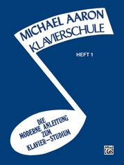 Michael Aaron Piano Course: German Edition (Klavierschule), Book 1