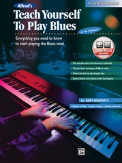 Alfred's Teach Yourself to Play Blues at the Keyboard