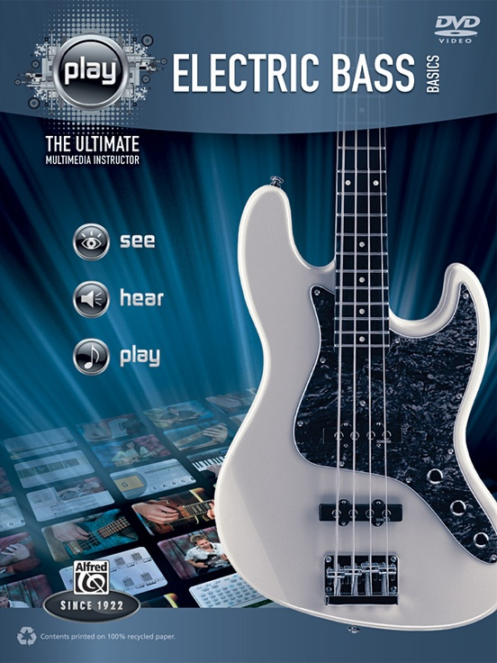 Alfred's PLAY: Electric Bass Basics