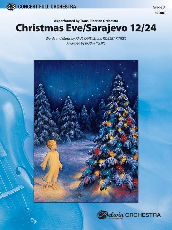 Christmas Eve/Sarajevo 12/24: Full Orchestra Conductor Score ...