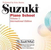 Suzuki Piano School New International Edition CD, Volume 5