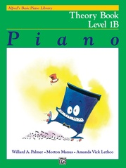 Alfred's Basic Piano Library: Theory Book 1B