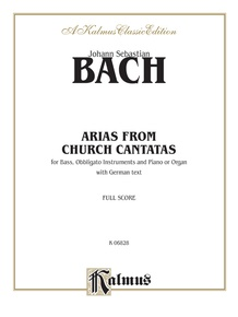 Arias from Church Cantatas