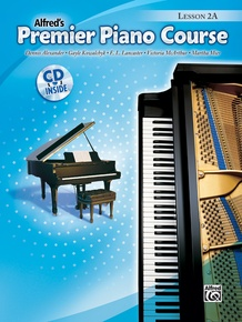 Premier Piano Course, Lesson 2A