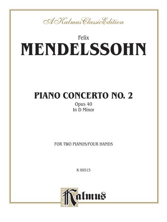 Piano Concerto No. 2 in D Minor, Opus 40