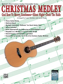 Belwin's 21st Century Guitar Ensemble Series: Christmas Medley