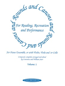 Rounds and Canons for Reading, Recreation and Performance, Piano Ensemble, Volume 1