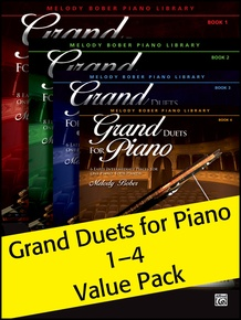 Grand Duets for Piano 1-4 (Value Pack)