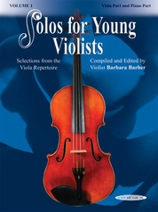 Solos for Young Violists Viola Part and Piano Acc., Volume 1