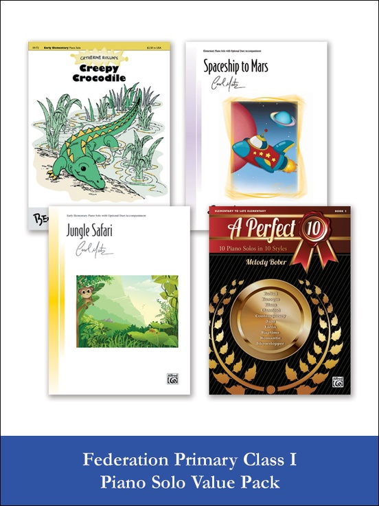 Federation Primary Class I Piano Solo (Value Pack)
