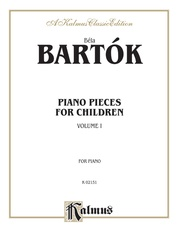 Piano Pieces for Children, Volume I