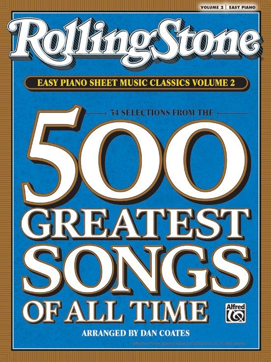 Rolling Stone® Easy Piano Sheet Music Classics, Volume 2