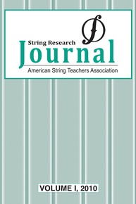 String Research Journal: Volume II, 2011