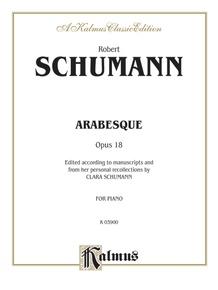 Arabesque, Opus 18