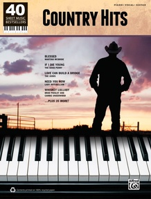 40 Sheet Music Bestsellers: Country Hits