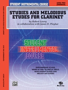 Student Instrumental Course: Studies and Melodious Etudes for Clarinet, Level II