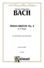 Missa Brevis No. 3 in A Major