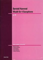 Musik für 4 Saxophone Opus 88f