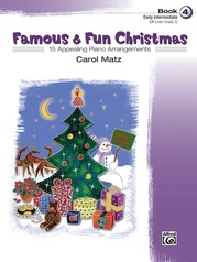 Famous & Fun Christmas, Book 4