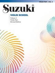 Suzuki Violin School Violin Part, Volume 5 (Revised)