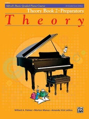 Alfred's Basic Graded Piano Course, Theory Book 2